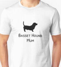 Basset Hound Mum Unisex T-Shirt