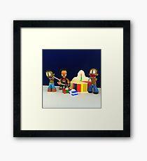 Michonne & Pets Birthday Framed Print