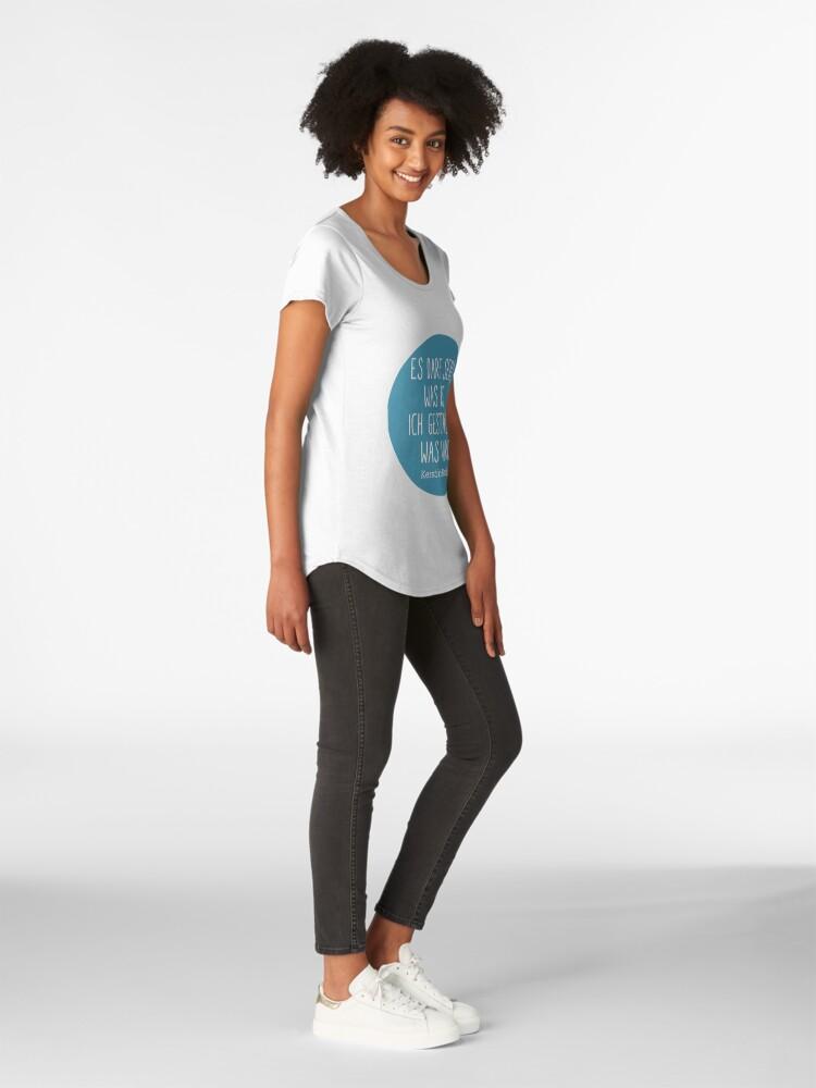 Alternative Ansicht von Es darf sein, was ist  Premium Rundhals-Shirt