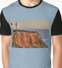 Palos Verdes Lighthouse Point Vicente Graphic T-Shirt