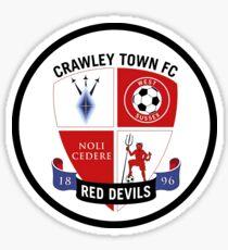 crawley town fc Sticker