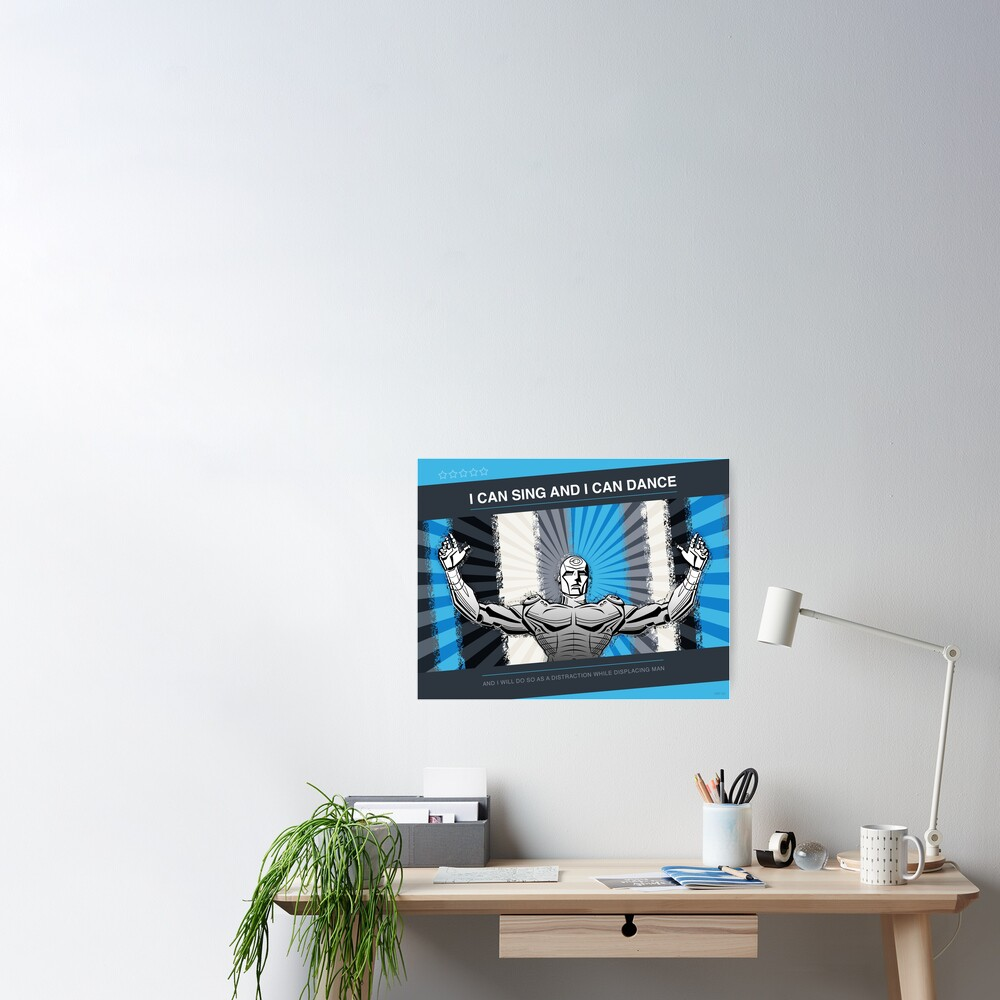 Problem Robot Poster