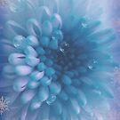 Light Blue Flowerart by hurmerinta