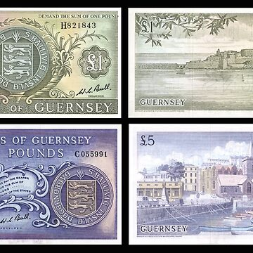 Old Guernsey Banknotes by Hawker