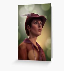 Star Trek: Deanna Troi Greeting Card