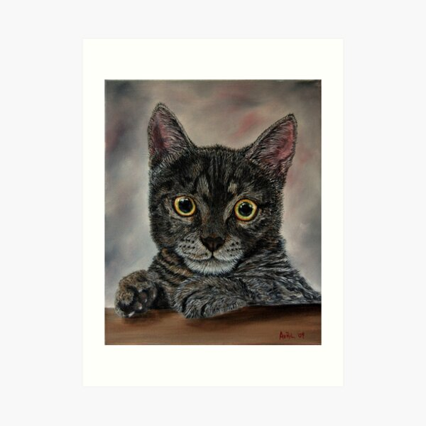 """""""Hello There!!"""" - oil painting Art Print"""