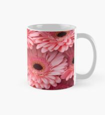 Pink Peach Gerbera. Amsterdam Flower Market Mug