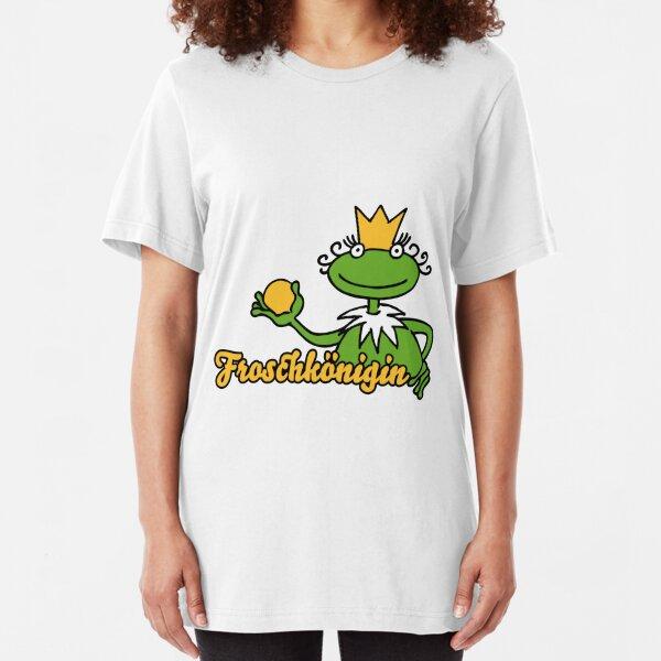 Froschkönigin Slim Fit T-Shirt