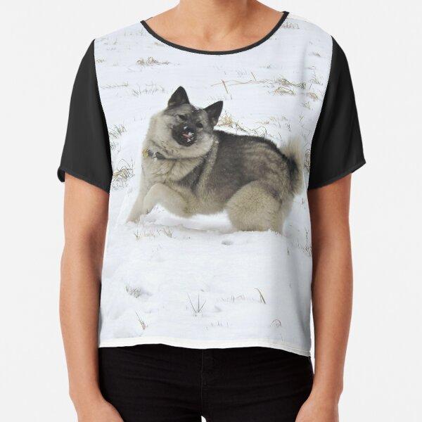 This Girl Loves Her Norwegian Elkhound Standard Women/'s T-shirt