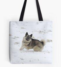 Snow Kisses Tote Bag