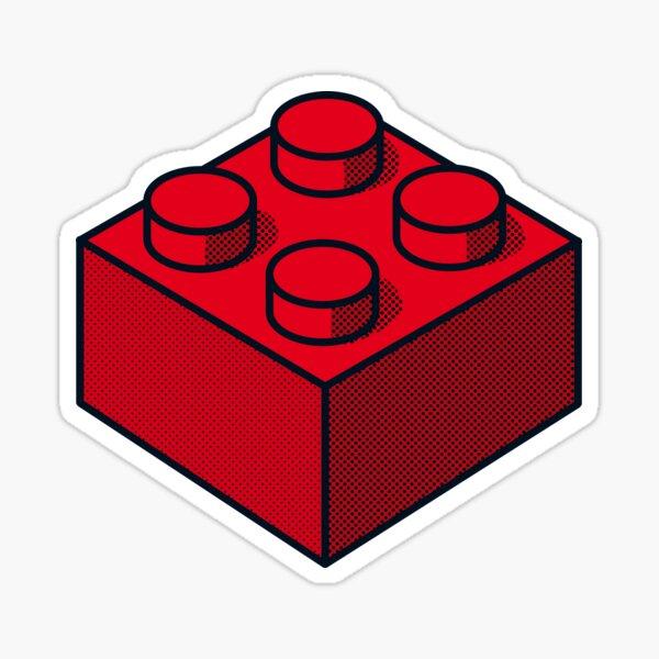 Brick Red Sticker