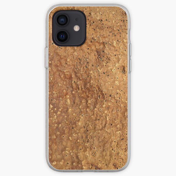Cork Texture iPhone Soft Case