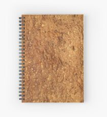 Cork Texture Spiral Notebook