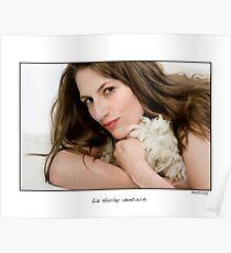 Liz Hurley lookalike Monika Kullig Poster
