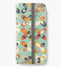 Retro seasons 03, Spring vibes iPhone Wallet/Case/Skin