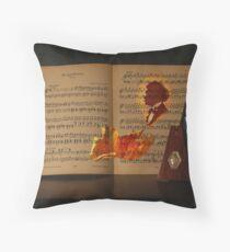 Morgenblätter - Johann Strauss  Throw Pillow