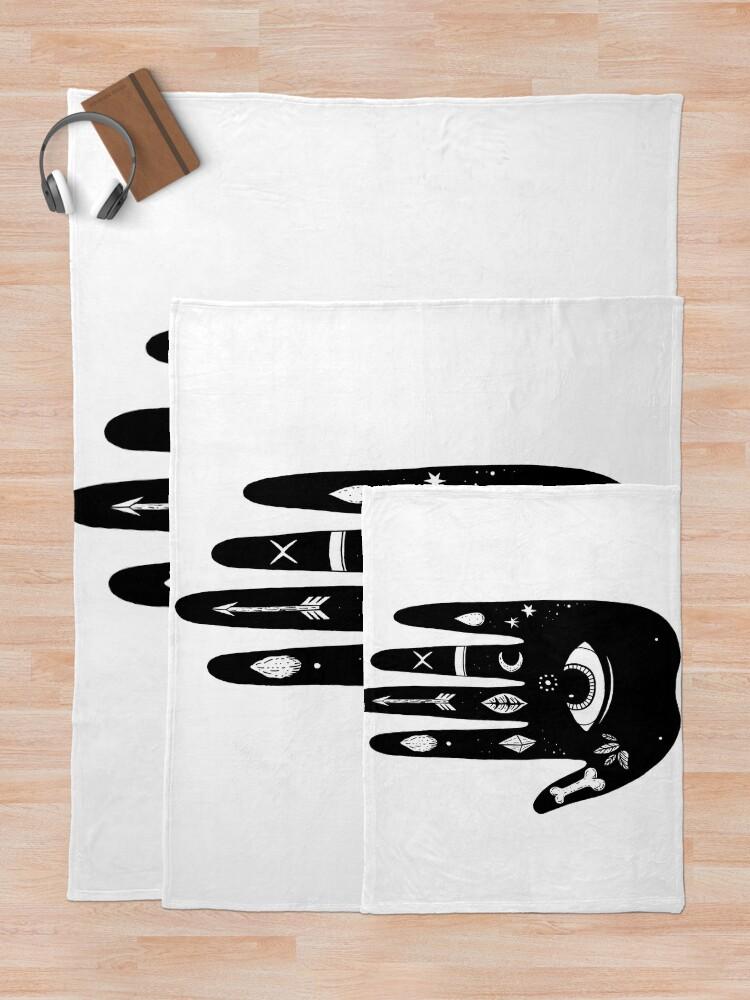 Alternate view of Magic Hand Throw Blanket