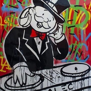 DJ Rich Uncle Pennybags by hellfinger