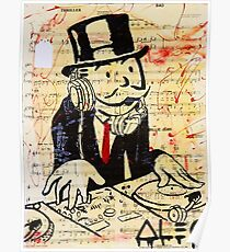 DJ Rich Uncle Pennybags 3 Poster