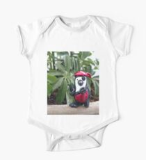 Red Pirate Penguin One Piece - Short Sleeve