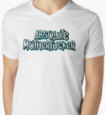 Absolute Motherfucker Men's V-Neck T-Shirt