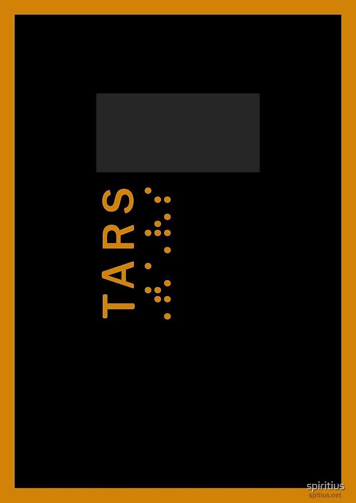 Interstellar: TARS by spiritius