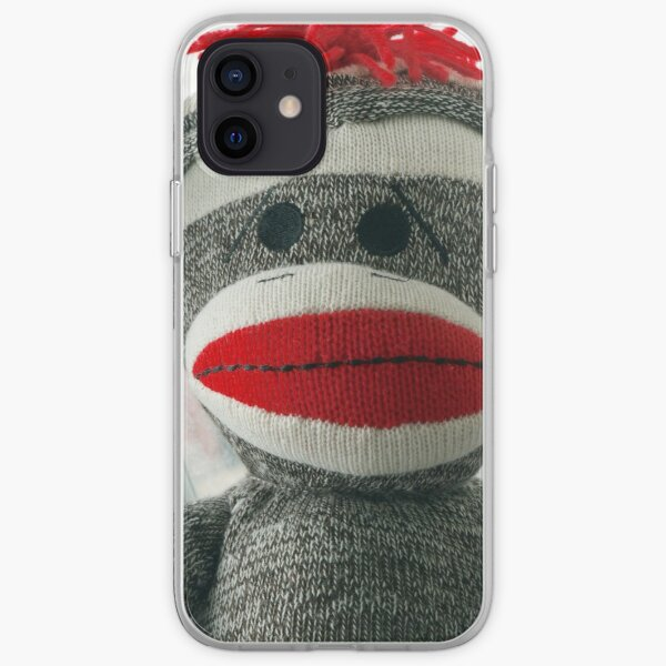 Sock Monkey iPhone Soft Case