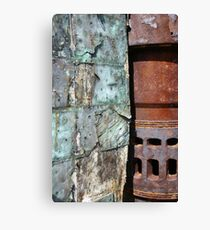 Old and Rusty Canvas Print