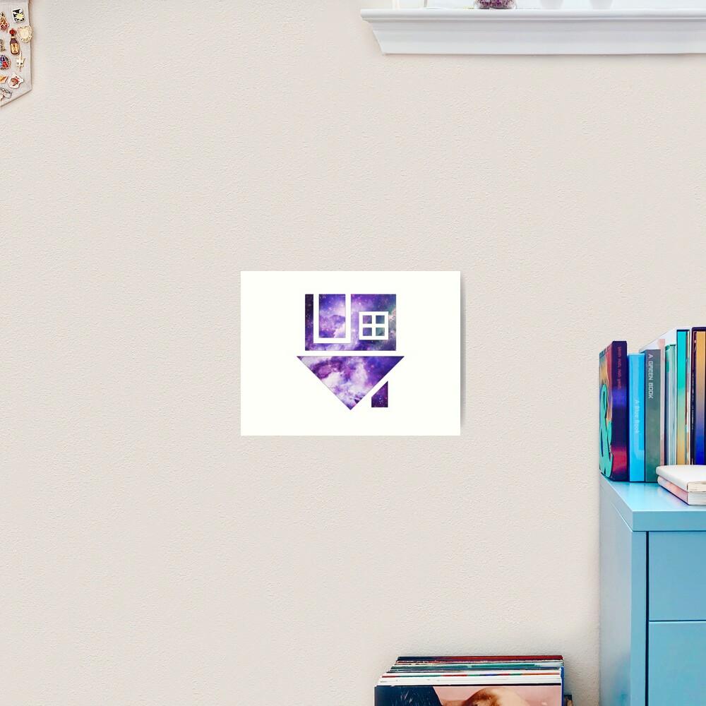 The Neighbourhood Logo (Galaxy Print) Art Print