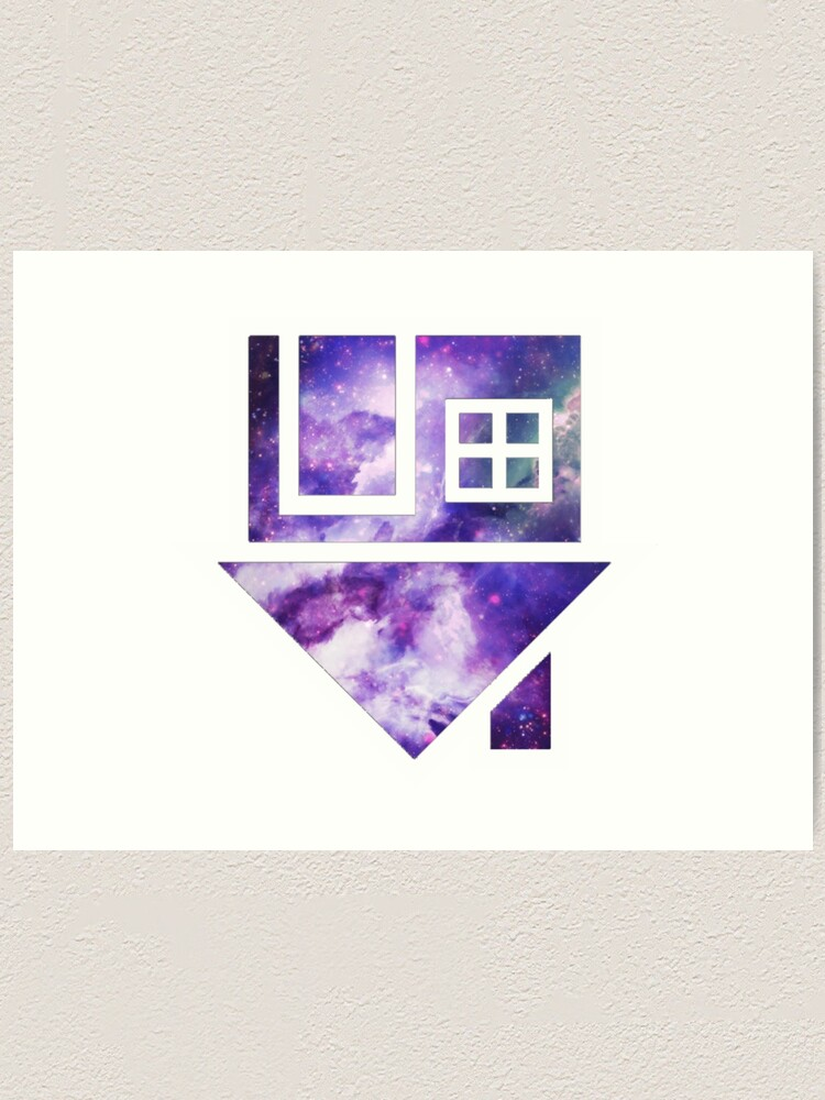Alternate view of The Neighbourhood Logo (Galaxy Print) Art Print