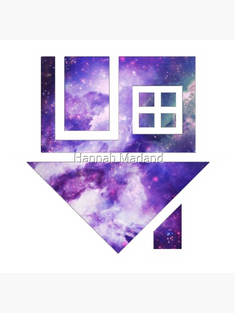 The Neighbourhood Logo (Galaxy Print) by hannahmarland