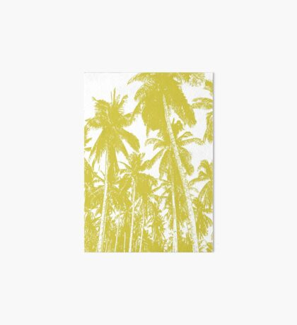 Palm Trees in a Posterised Design Art Board