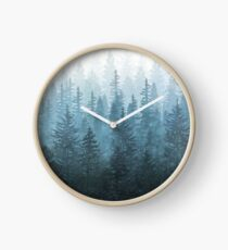 My Misty Secret Forest Clock