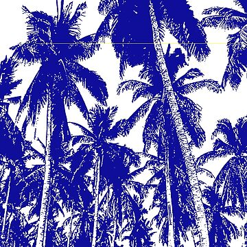 Palm Trees in a Posterised Design by NigelSutherland