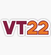 Virginia Tech 2022 Sticker