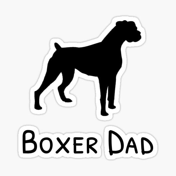 Boxer Dad Sticker