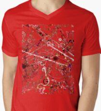 Alien Microbes V-Neck T-Shirt