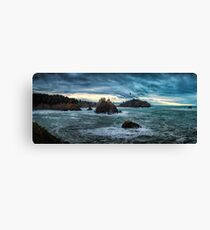 Stormy Day on the North Coast of California Canvas Print