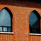 Monastery Windows - Our Lady of the Angels       ^ by ctheworld