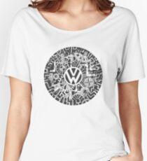 Volkswagen Steampunk Mechanical Doodle Women's Relaxed Fit T-Shirt