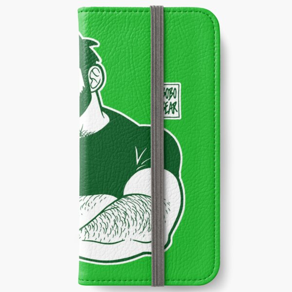 ADAM LIKES CROSSING ARMS - LINEART GREEN iPhone Wallet