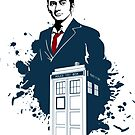 David Tennant Doctor Who Art by JMHDesign