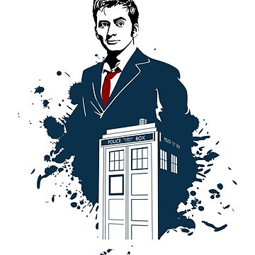 David Tennant Doctor Who Art by JMHDesign