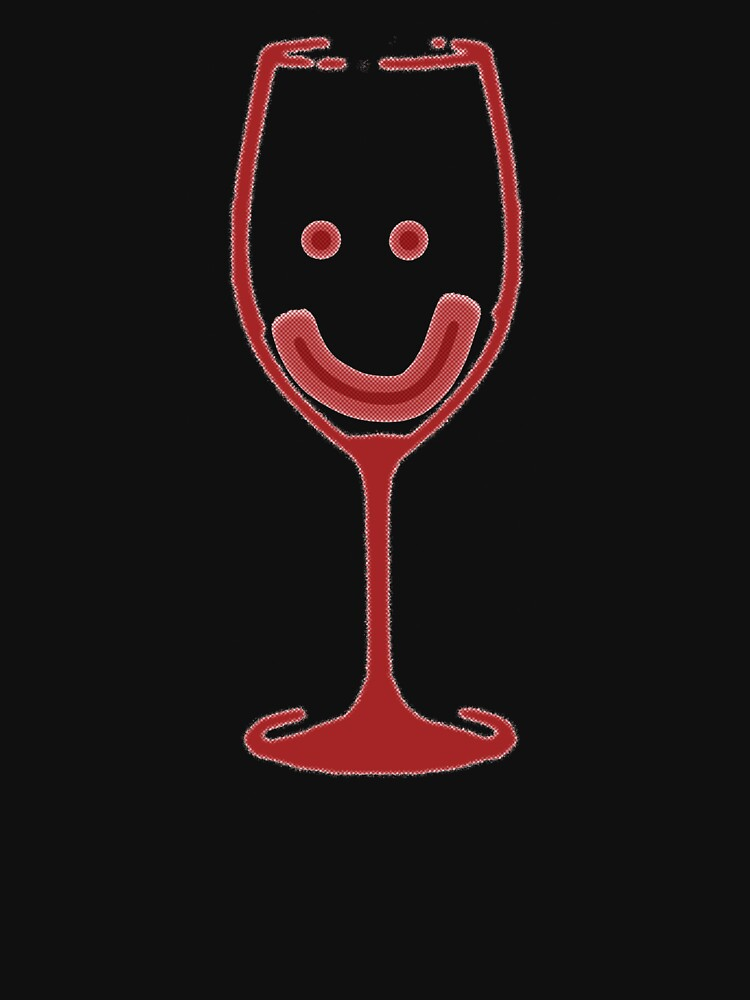Smiley Wine Glass by wineimages