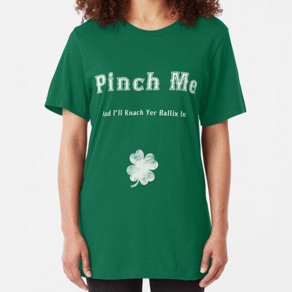 Tee Hunt Leprechaun Bottom Pinch It Muscle Shirt ST Patricks Day Funny Beer Sleeveless