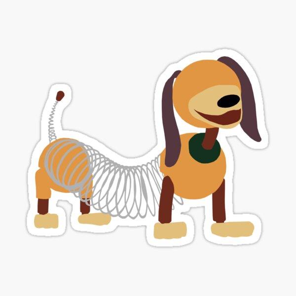 Very Bendy Dog Sticker