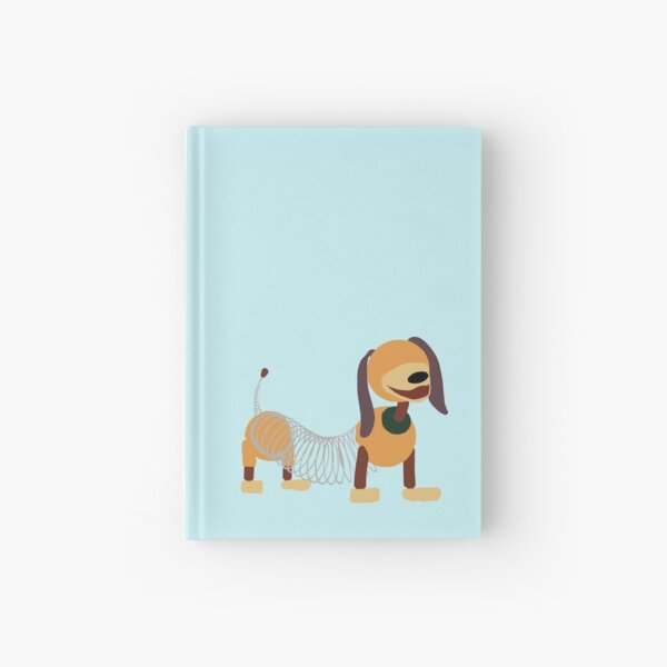 Very Bendy Dog Hardcover Journal