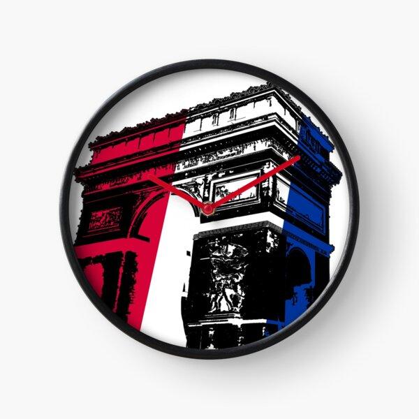 Paris Arc de Triomphe Clock