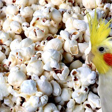 popcorn cockatiel by FandomizedRose