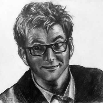Tenth Doctor Portrait by AlexBowman314